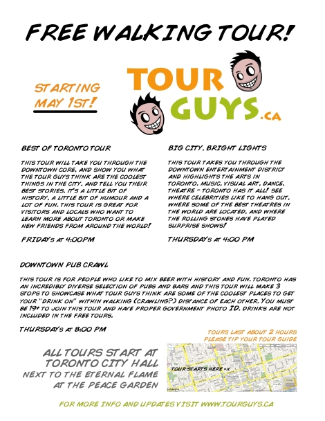 Tour Guys Small Poster