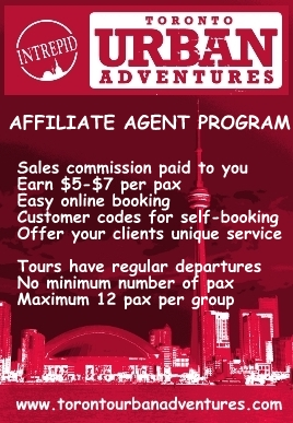 Sell tours earn commission